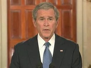 Tổng thống G.Bush phát biểu trước khi rời Nhà Trắng ảnh 1