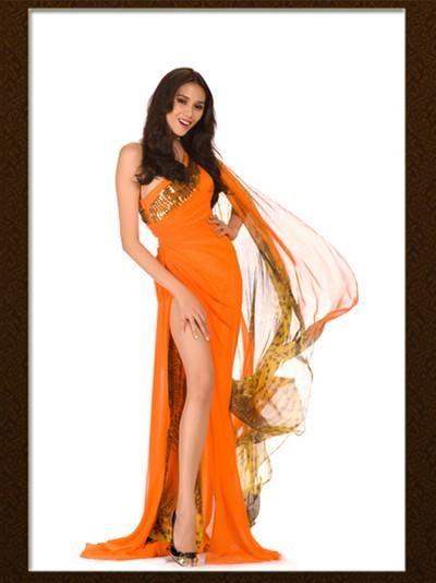 Nhìn lại hành trình của Hoàng Yến tại Miss Universe ảnh 3