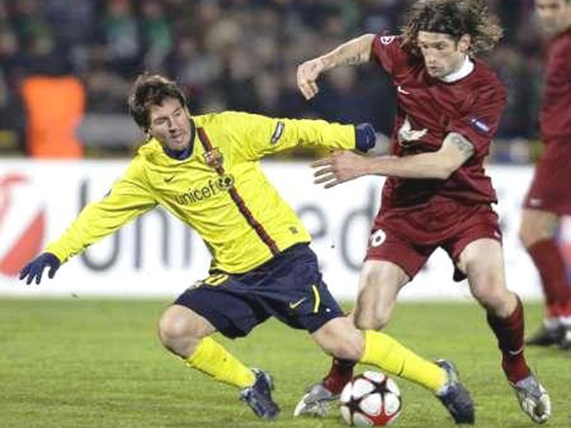 Rubin Kazan cầm chân Barcelona ảnh 1