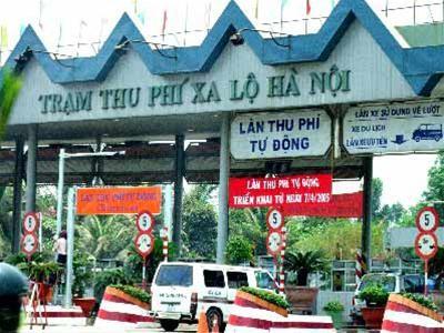 Đề nghị tạm dừng thu phí tại Trạm xa lộ Hà Nội ảnh 1