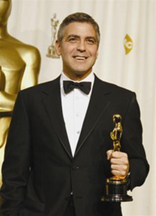 George Clooney chuẩn bị bài phát biểu khá công phu ảnh 1