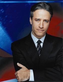 MC Jon Stewart biết ứng biến ảnh 1
