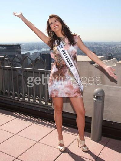 Tân Hoa hậu Hoàn vũ và Hoa hậu Mỹ tinh nghịch ảnh 10