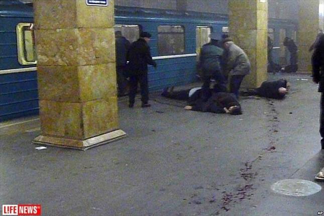 Phát hiện thi thể nữ đánh bom liều chết ở Mátxcơva ảnh 1
