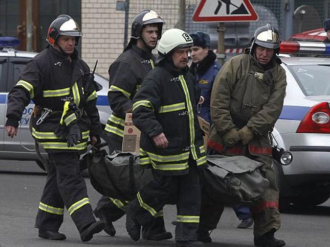 Chùm ảnh khủng bố kép trong tàu điện ngầm Matxcơva ảnh 4
