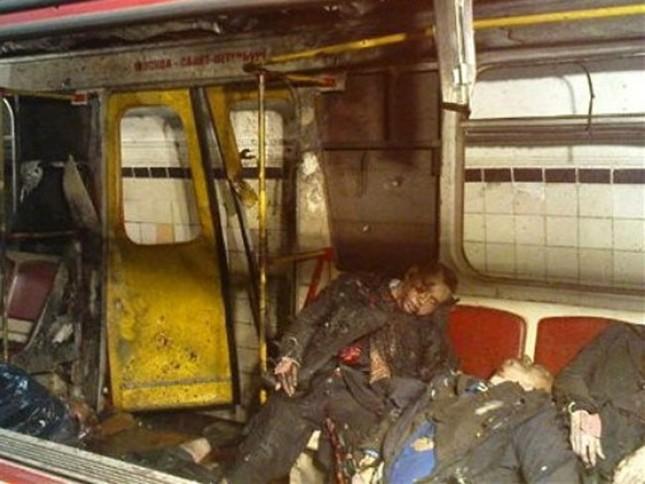 Chùm ảnh khủng bố kép trong tàu điện ngầm Matxcơva ảnh 8