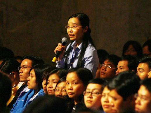 Trực tuyến : Sinh viên đối thoại với Chính phủ ảnh 7