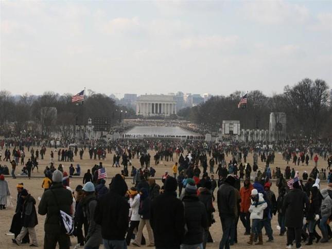'Luther King mỉm cười' trongLễ nhậm chức củaObama ảnh 3