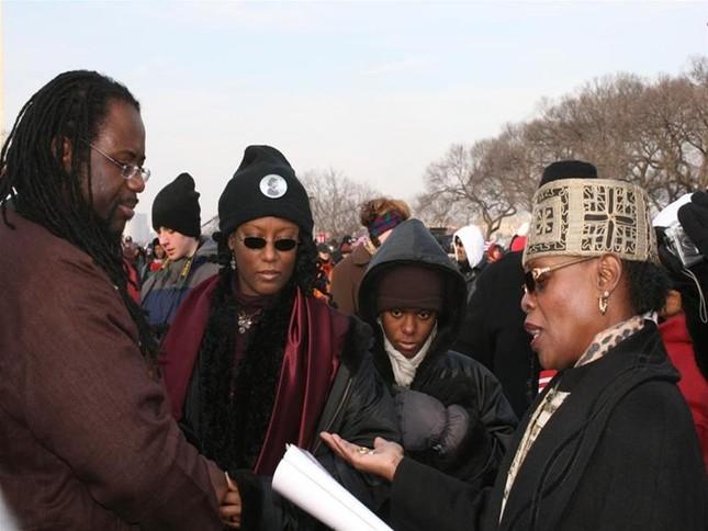 'Luther King mỉm cười' trongLễ nhậm chức củaObama ảnh 4