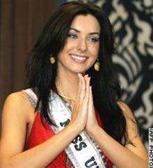 Hoa hậu Hoàn vũ xét nghiệm HIV ảnh 1