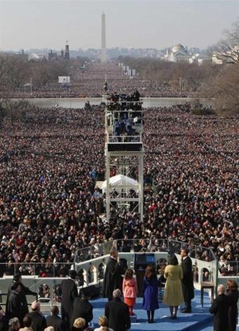 Ông Obama chính thức trở thành Tổng thốngMỹ ảnh 5