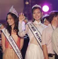 Phạm Thu Hằng dự thi Hoa hậu Hoàn Vũ 2005 ảnh 1