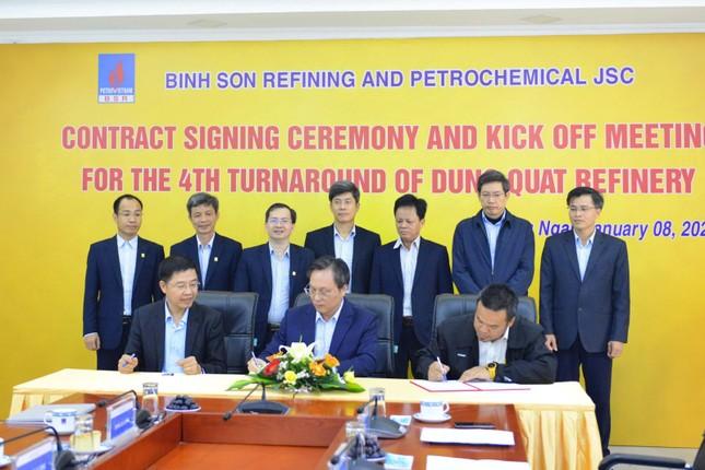 BSR ký hợp đồng Bảo dưỡng tổng thể lần thứ 4 NMLD Dung Quất ảnh 4
