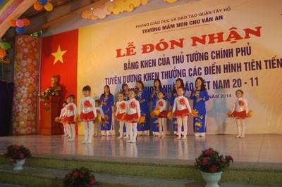 Trường MN Chu Văn An đón nhận bằng khen của Thủ Tướng Chính Phủ ảnh 5