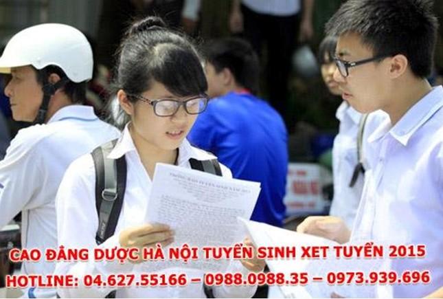 Cao đẳng Dược học Hà Nội năm 2015 thông báo tuyển sinh ảnh 2