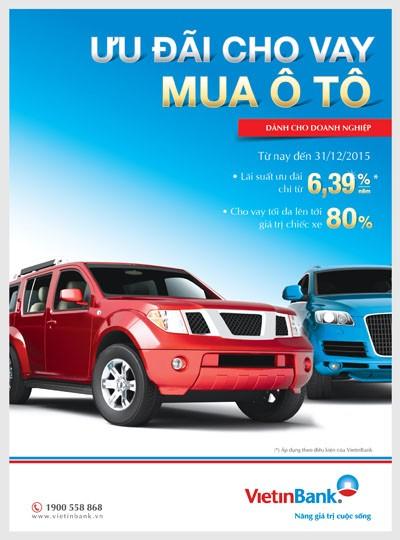 VietinBank cho doanh nghiệp vay mua ô tô với lãi suất ưu đãi ảnh 1