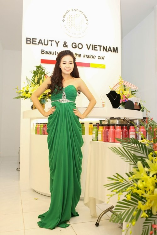 Miss Beauty&Go Trần Hà Phương rực rỡ sau đêm đăng quang ảnh 5