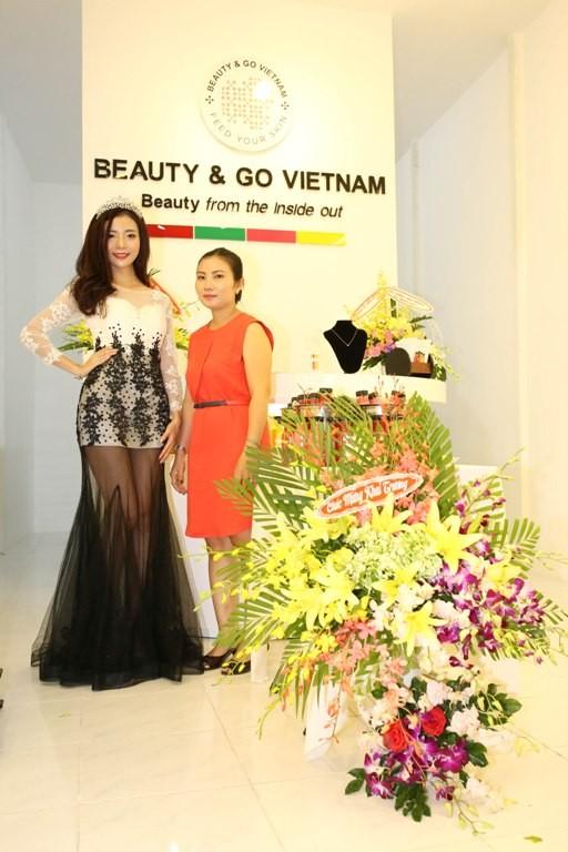 Miss Beauty&Go Trần Hà Phương rực rỡ sau đêm đăng quang ảnh 7
