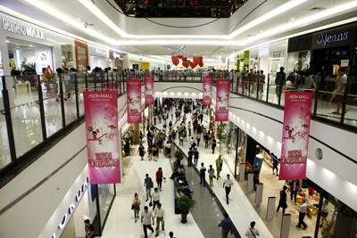 Rực rỡ sắc màu tại Aeon mall Long Biên ảnh 1