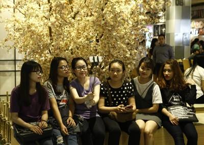 Rực rỡ sắc màu tại Aeon mall Long Biên ảnh 6