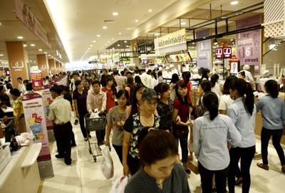 Rực rỡ sắc màu tại Aeon mall Long Biên ảnh 8
