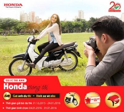 """Tham gia cuộc thi ảnh """"Honda trong tôi"""", nhận giải thưởng khủng ảnh 1"""