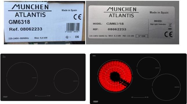 Khám phá dòng bếp từ Munchen Atlantis đình đám ảnh 1