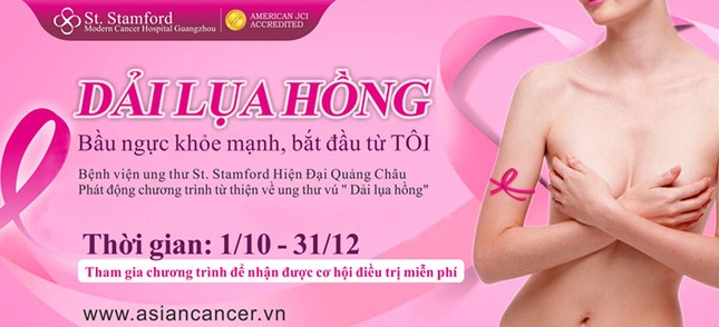 Tự kiểm tra vú – Điều trị miễn phí ung thư vú ảnh 1
