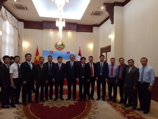 PVN tháp tùng đoàn công tác của Phó Thủ tướng Trịnh Đình Dũng tại Lào ảnh 1