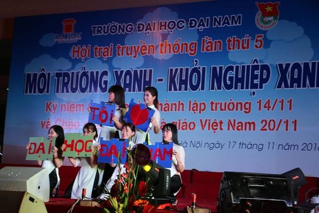 Đại học Đại Nam tưng bừng ngày hội tri ân nhà giáo ảnh 7