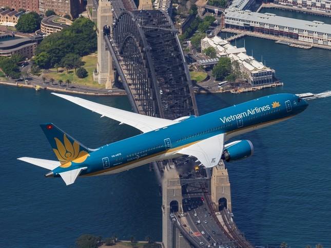 'Màn biểu diễn' của máy bay hiện đại nhất Vietnam Airlines Boeing 787-9 ảnh 5