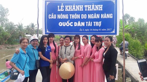 NCB trao tặng nhà, tài trợ xây cầu dân sinh tại 03 tỉnh miền Tây ảnh 3