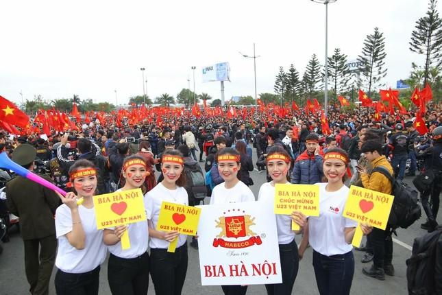 Bia Hà Nội cùng đón và vinh danh đội tuyển U23 Việt Nam ảnh 2