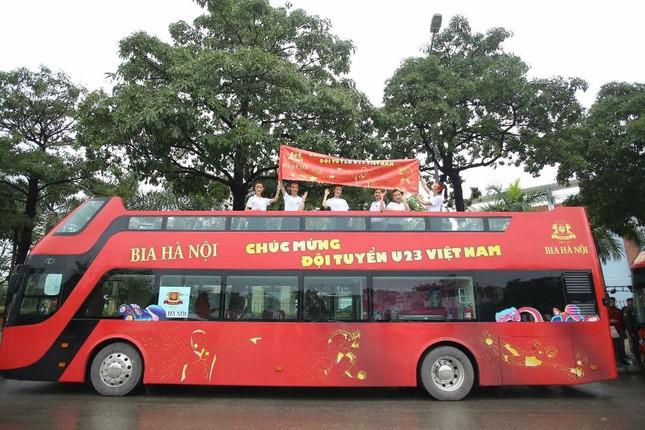 Bia Hà Nội cùng đón và vinh danh đội tuyển U23 Việt Nam ảnh 1