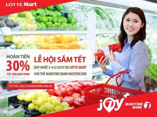 Thỏa sức mua sắm dịp Tết cùng Maritime Bank, hoàn tiền 30% ảnh 1