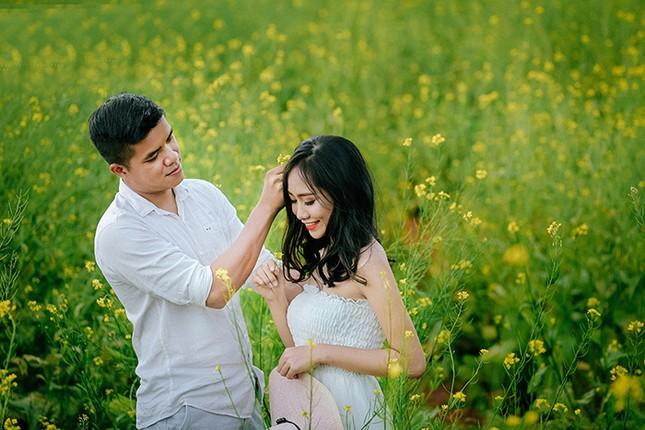 Mải mê 'sống ảo' với thảm hoa cải vàng đẹp mê hồn ở Sun World Fansipan ảnh 5