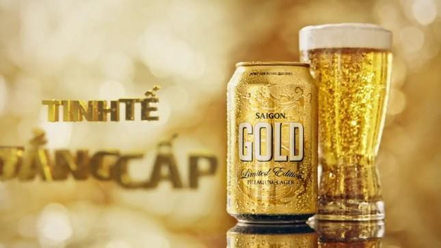 Bia Sài Gòn ra mắt dòng sản phẩm cấp cao mới Saigon Gold ảnh 1