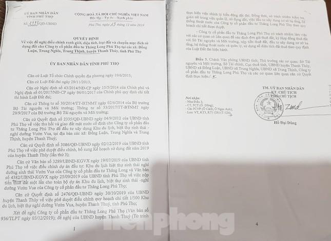 Bên trong dự án Vườn Vua hơn 1.400 tỷ vướng hàng loạt sai phạm ở Phú Thọ ảnh 17