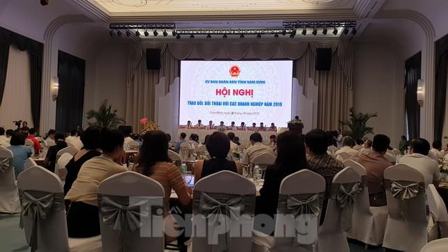 Đối thoại với lãnh đạo tỉnh, doanh nghiệp Nam Định kêu 'khó' đủ thứ ảnh 1