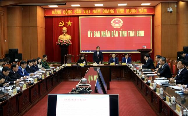 Phát hiện thêm bệnh nhân từ Vũ Hán về nhập viện, Thái Bình họp khẩn chống dịch ảnh 3