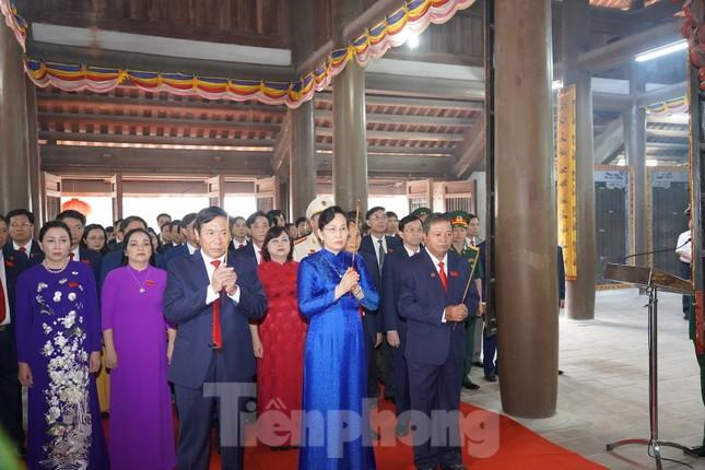 Hà Nam khai mạc Đại hội Đảng bộ cấp tỉnh đầu tiên trên cả nước ảnh 2