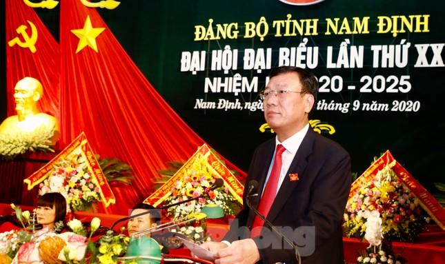 Ông Đoàn Hồng Phong tái cử Bí thư Tỉnh ủy Nam Định ảnh 2
