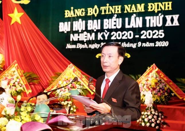 Bế mạc Đại hội Đảng bộ tỉnh Nam Định lần thứ XX ảnh 3