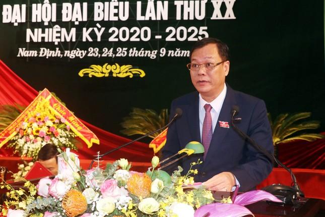 Bế mạc Đại hội Đảng bộ tỉnh Nam Định lần thứ XX ảnh 2