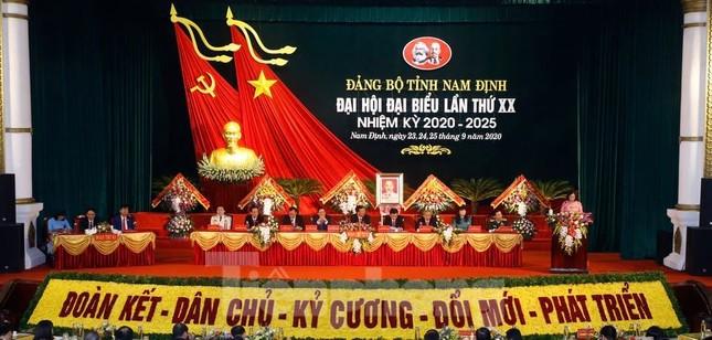 Bế mạc Đại hội Đảng bộ tỉnh Nam Định lần thứ XX ảnh 4