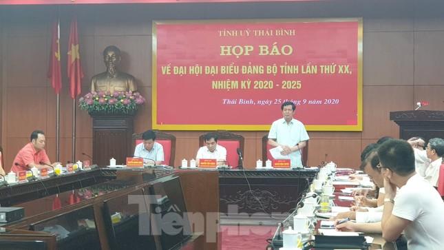 350 đại biểu tham dự Đại hội Đảng bộ tỉnh Thái Bình ảnh 1