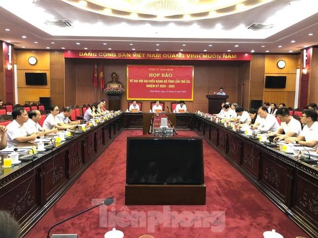 350 đại biểu tham dự Đại hội Đảng bộ tỉnh Thái Bình ảnh 2