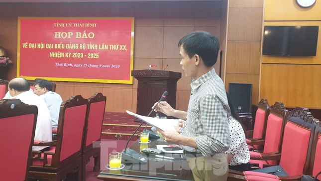 350 đại biểu tham dự Đại hội Đảng bộ tỉnh Thái Bình ảnh 3