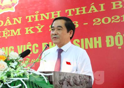 Ông Ngô Đông Hải được giới thiệu tái cử Bí thư Tỉnh ủy Thái Bình ảnh 3