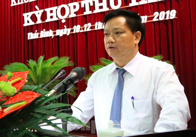 Ông Ngô Đông Hải được giới thiệu tái cử Bí thư Tỉnh ủy Thái Bình ảnh 4
